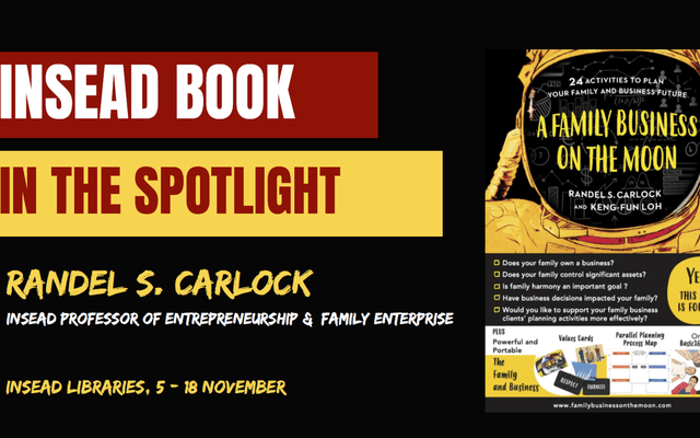 INSEAD Book in the Spotlight – A family business on the moon