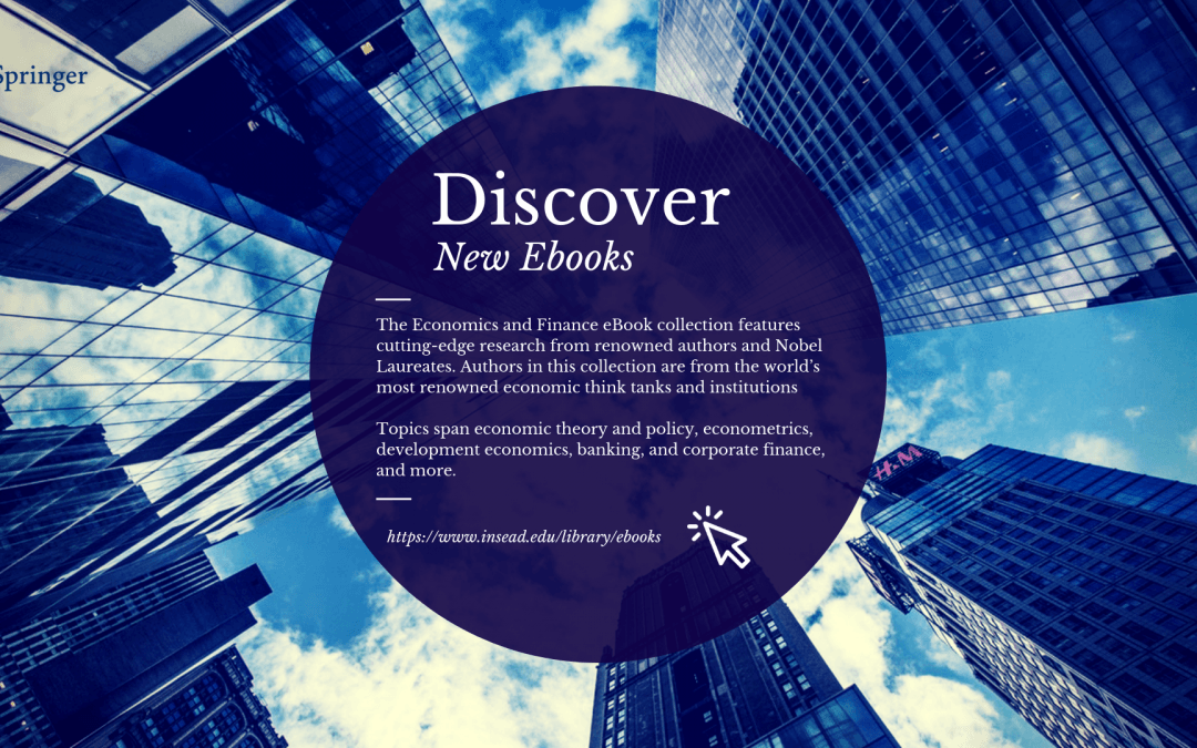 New ebooks in Economics & Finance
