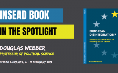 INSEAD Book in the spotlight – European disintegration? by Douglas Webber