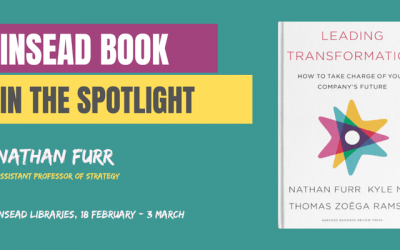 INSEAD Book / Special Display – Leading transformation