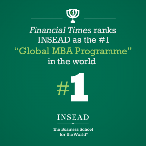 INSEAD FT #1 Global MBA