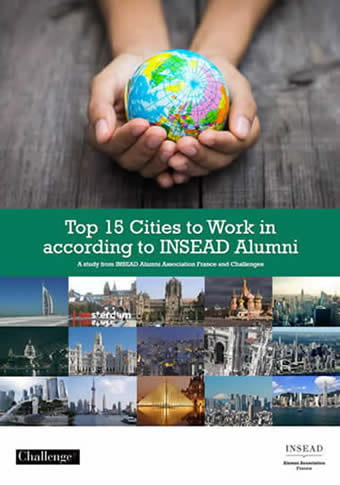 Top 15 Cities to Work in According to INSEAD Alumni