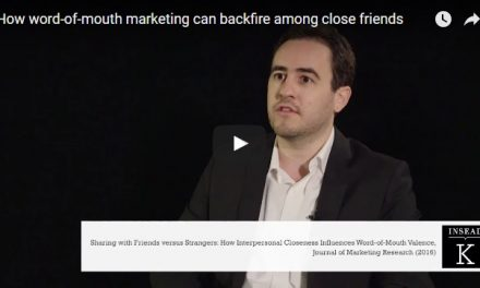 Close Friends Could Darken Word-of-Mouth Marketing