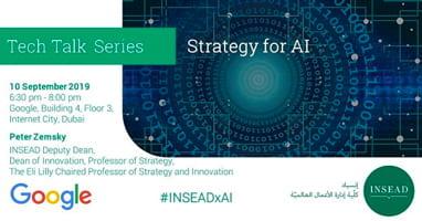 Tech Talk @ Google: Strategy for AI