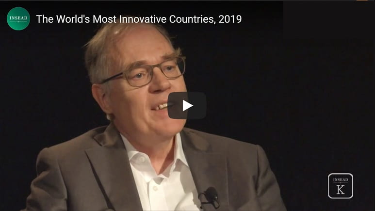The World's Most Innovative Countries, 2019