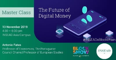 Master Class: The Future of Digital Money