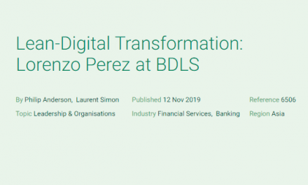 Lean-Digital Transformation: Lorenzo Perez at BDLS