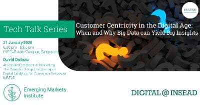 Customer Centricity in the Digital Age: When and Why Big data can Yield Big Insights