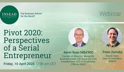 Pivot 2020: Perspectives of a Serial Entrepreneur