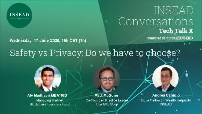 Tech Talk X – Safety vs Privacy: Do we have to choose?