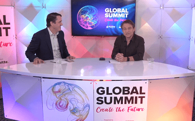 Singularity University Founder Peter Diamandis interviewed by INSEAD Deputy Dean Peter Zemsky