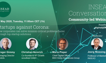 Tech Talk X – Startups against Corona – how corporates and startups could collaborate better to find quick solutions