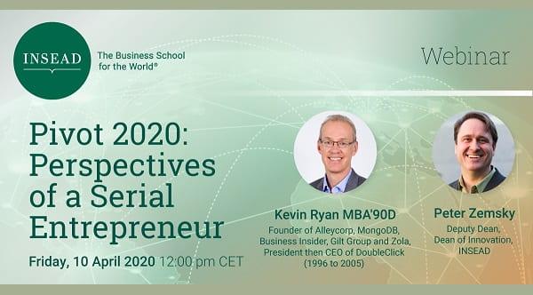 Pivot 2020: Perspectives of a Serial Entrepreneur