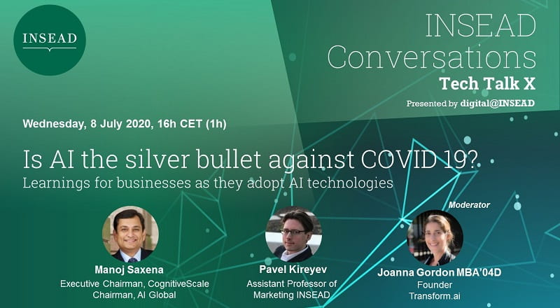 Tech Talk X – Is AI the silver bullet against COVID 19?