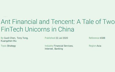 Ant Financial and Tencent: A Tale of Two FinTech Unicorns in China