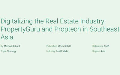 Digitalizing the Real Estate Industry: PropertyGuru and Proptech in Southeast Asia