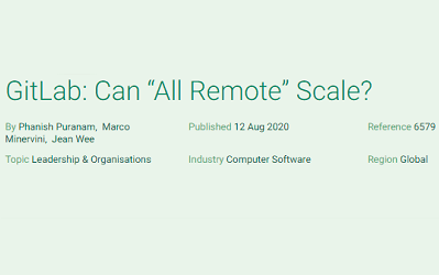 "GitLab: Can ""All Remote"" Scale?"