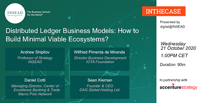 Distributed Ledger Business Models: How to Build Minimal Viable Ecosystems?