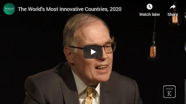 The World's Most Innovative Countries, 2020