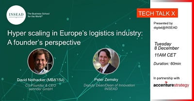 Hyper scaling in Europe's logistics industry: A founder's perspective