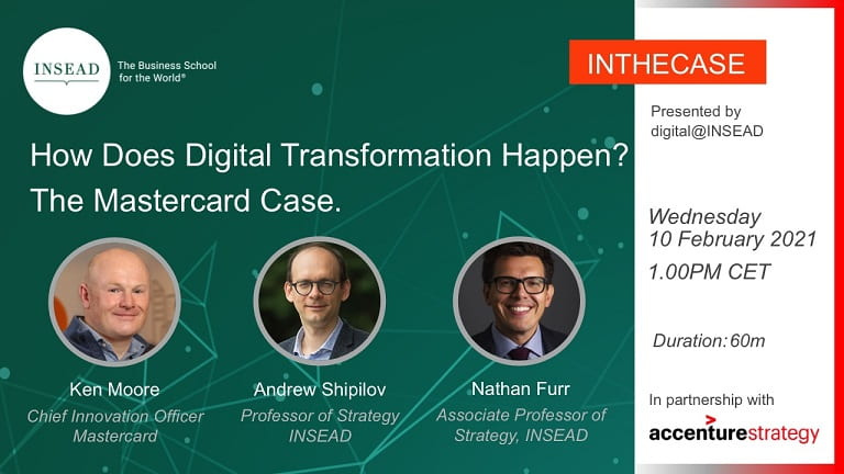 How Does Digital Transformation Happen? The Mastercard Case