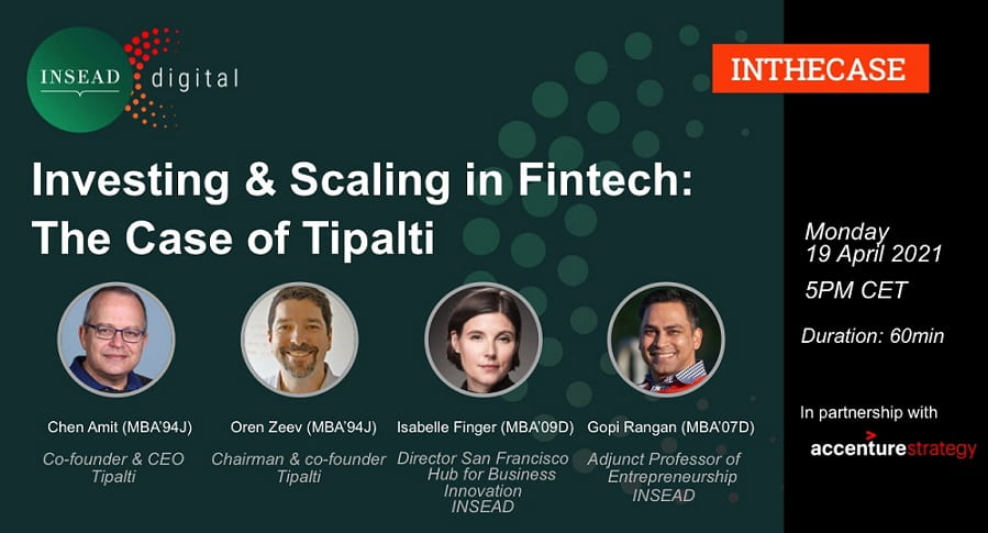 Investing and Scaling in Fintech: The Case of Tipalti