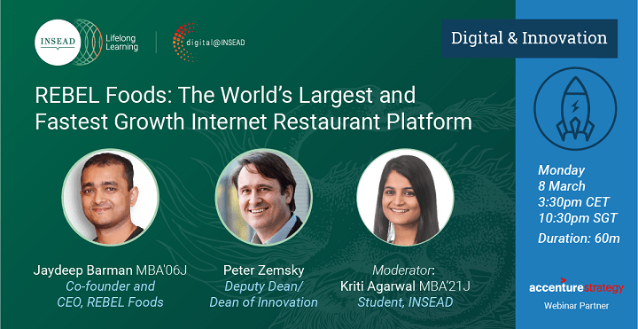 REBEL Foods: The World's Largest and Fastest Growth Internet Restaurant Platform