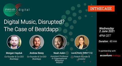 Digital Music, Disrupted? The Case of Beatdapp