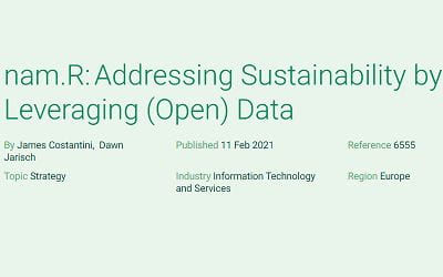 nam.R: Addressing Sustainability by Leveraging (Open) Data