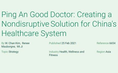 Ping An Good Doctor: Creating a Nondisruptive Solution for China's Healthcare System