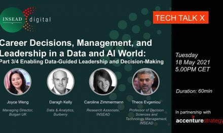 Webinar Series: Career Decisions, Management, and Leadership in a Data and AI World. Part 3/4 Enabling Data-Guided Leadership and Decision-Making