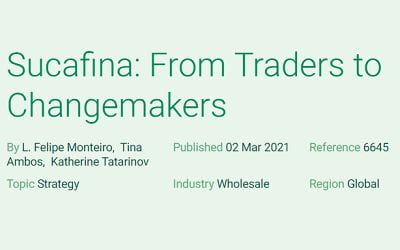 Sucafina: From Traders to Changemakers