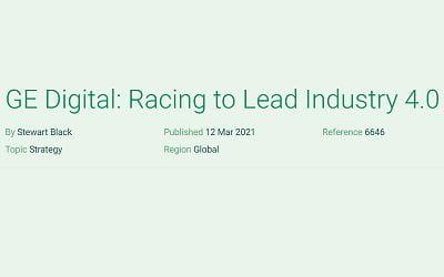 GE Digital: Racing to Lead Industry 4.0