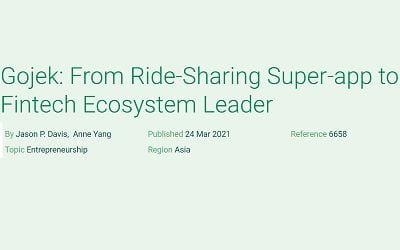 Gojek: From Ride-Sharing Super-app to Fintech Ecosystem Leader