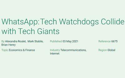 WhatsApp: Tech Watchdogs Collide with Tech Giants