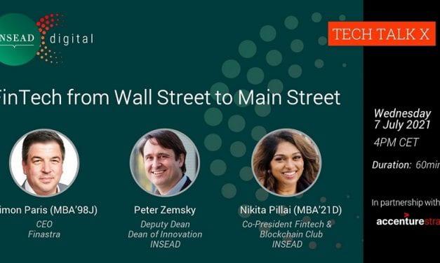 FinTech from Wall Street to Main Street