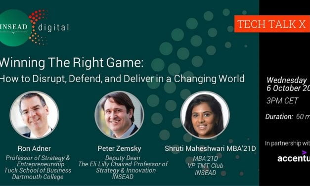 Winning the Right Game: How to Disrupt, Defend, and Deliver in a Changing World