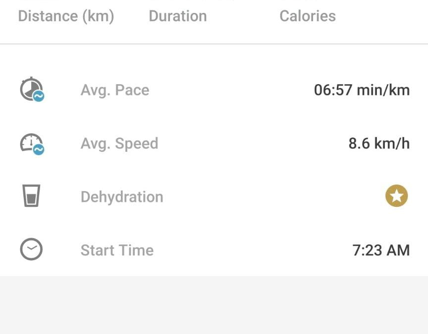 Running and activity – COVID 19