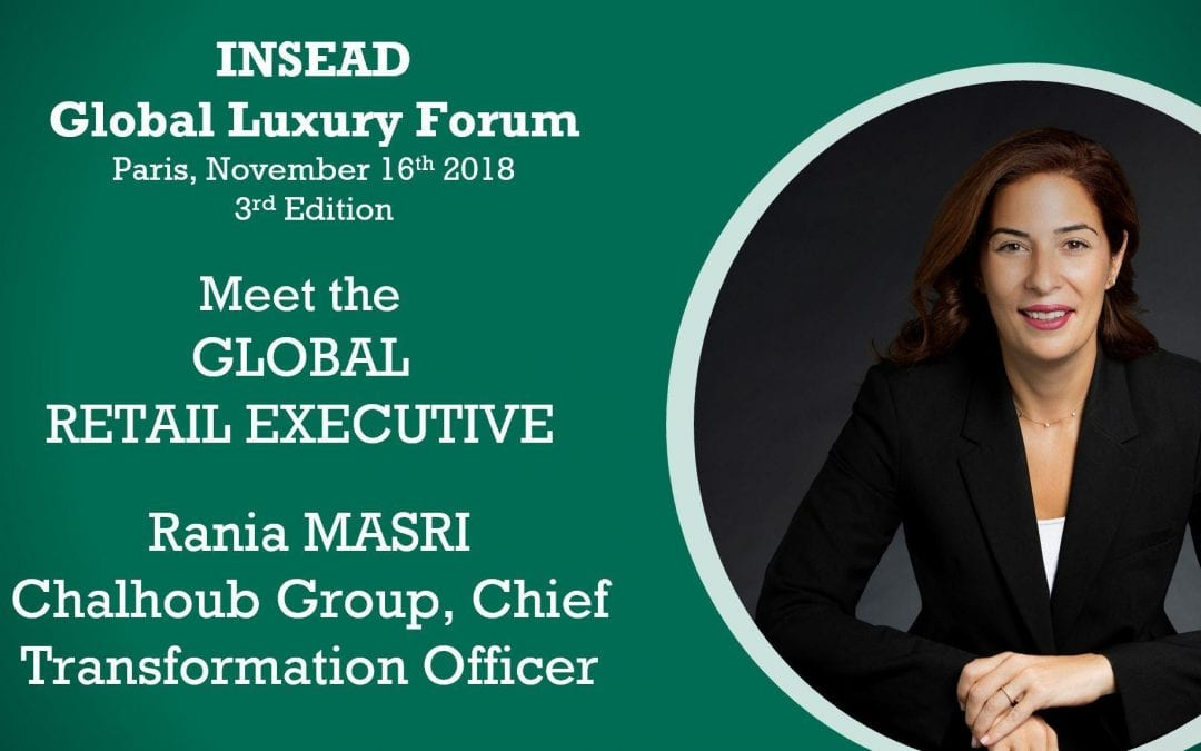 Meet the Global Retail Executive: Rania MASRI