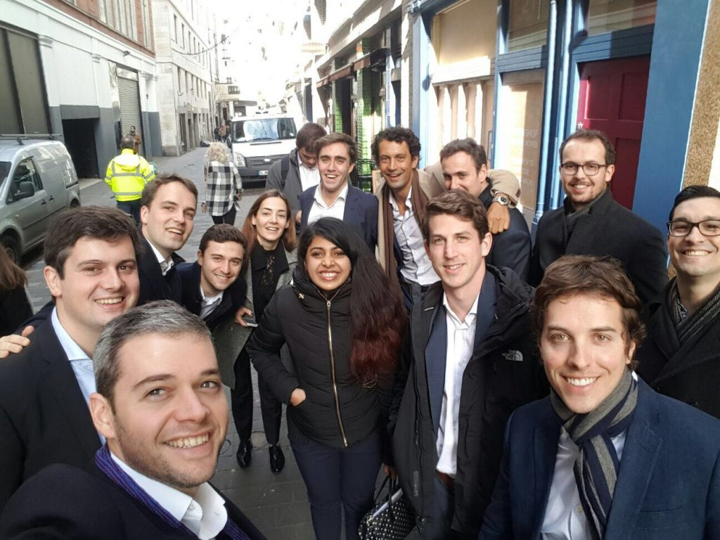 INSEAD 2017 Venture Capital Trek in London