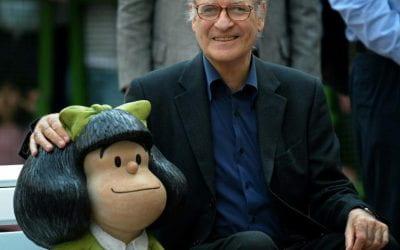 «Mafalda orpheline : l'immense legs de Quino pour vivre mieux» (The Conversation) – Mar Perezts