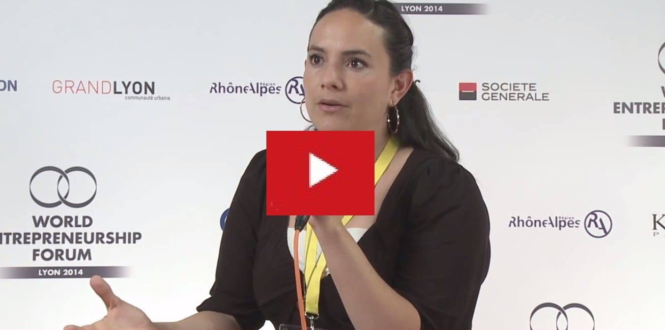 WATCH: EMLYON MBA students Gregori, Mariana, Julian & Maryanne interview at World Entrepreneurship Forum