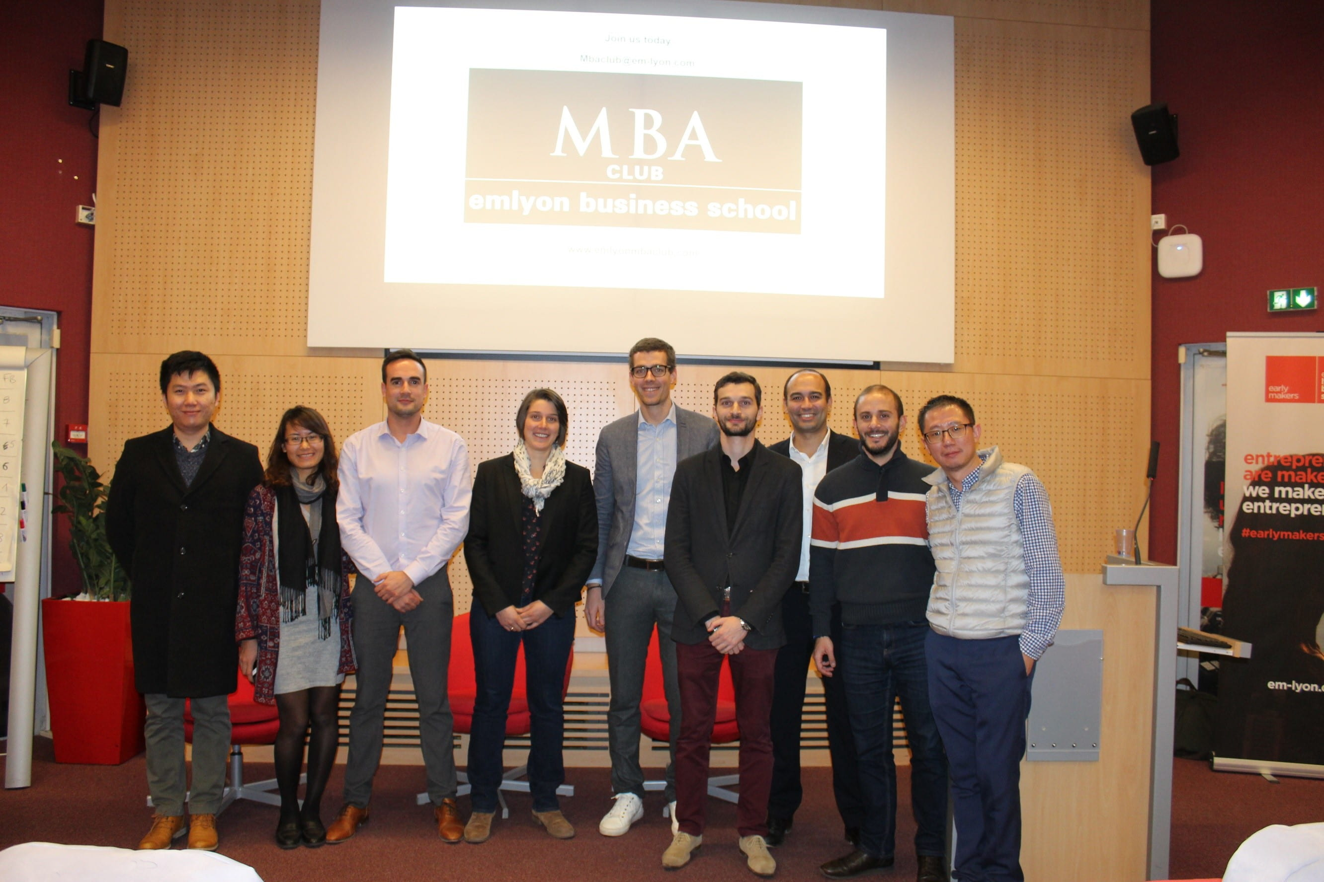 MBA club launch – the beginning of an association for all MBA candidates at emlyon business school