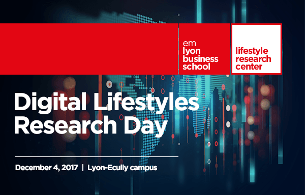 Digital Lifestyles Research Day / 4 Dec 2017