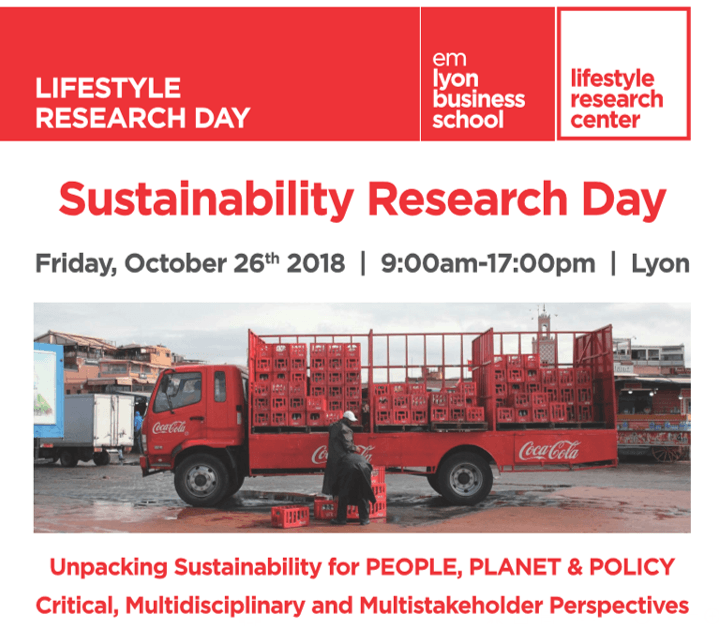 Sustainability Research Day – October 26, 2018