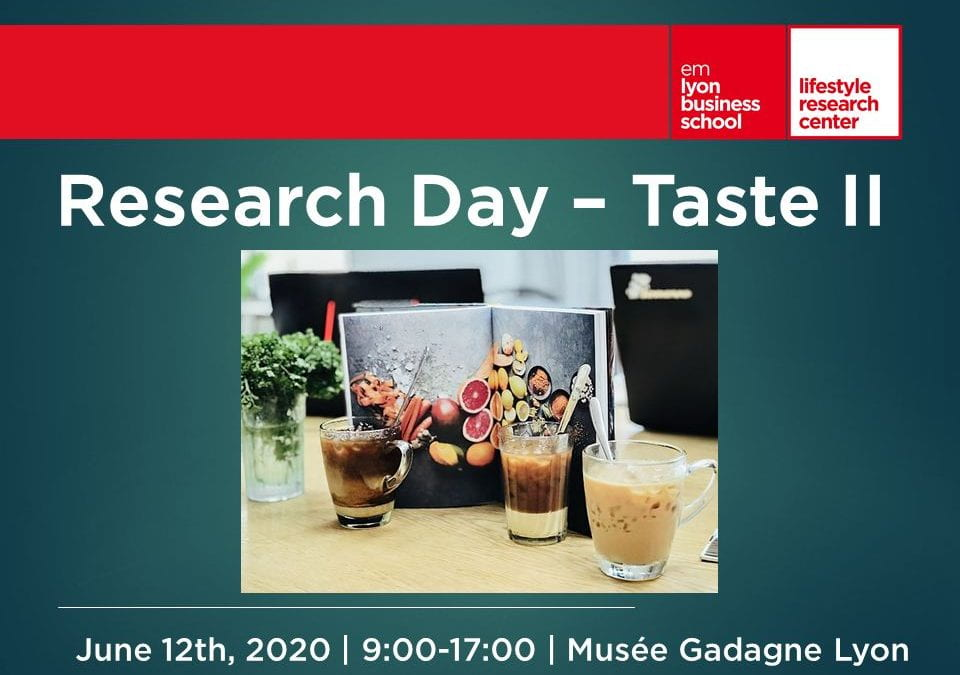 Taste Research Day – June 12, 2020
