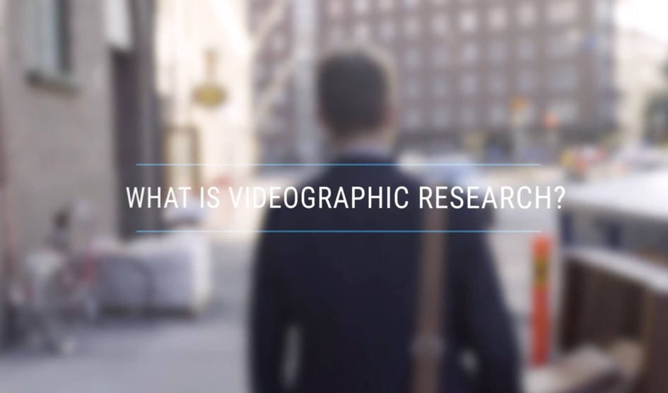 PART I: What is videographic research?
