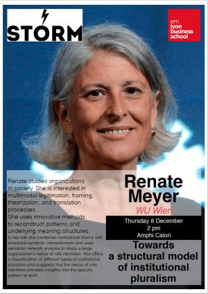 08December 2016: RENATE E. MEYER(WU Wien)