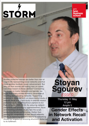 11 May 2017: STOYAN SGOUREV (ESSEC)