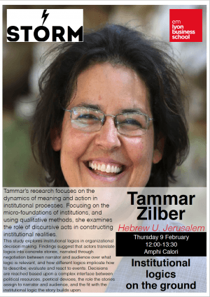 09 February 2017: TAMMAR ZILBER (Hebrew U. of Jerusalem)
